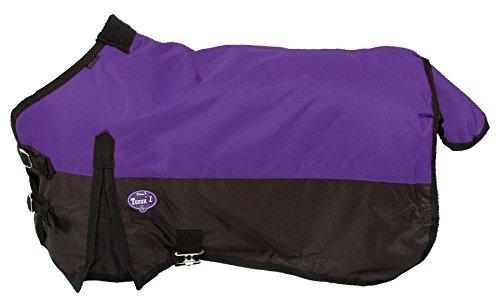 Waterproof Turnout - Tough 1 600D Waterproof Poly Miniature Turnout Blanket, Purple, 50