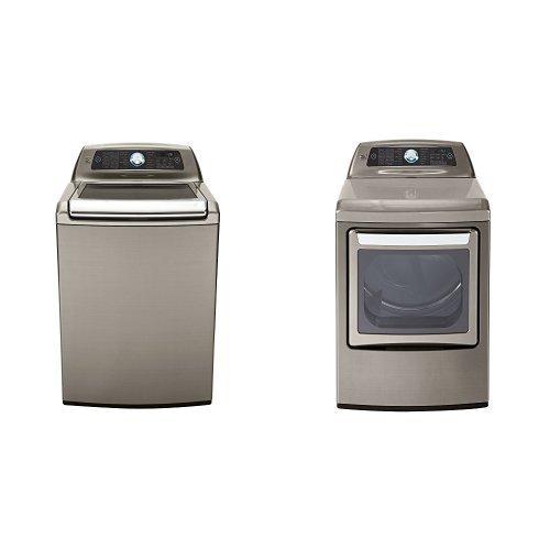 Kenmore Elite Top-Load Laundry 5.2 Gas Dryer Bundle - Met...