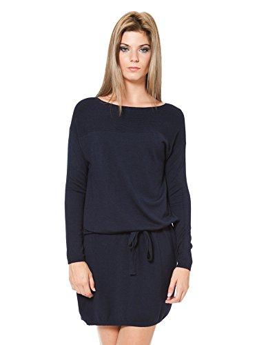 Laura Moretti Vestido Azul Marino Única