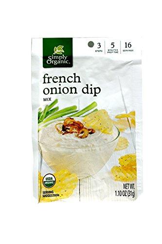 Simply Organic French Onion Dip ( 12x1.1 OZ)