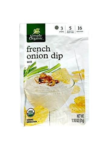 Organic French Onion Dip - Simply Organic French Onion Dip ( 12x1.1 OZ)