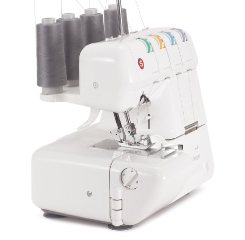 singer 14j250 stylist ii serger overlock machine with 2 3 4 thread capability. Black Bedroom Furniture Sets. Home Design Ideas