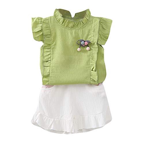 2PCS Summer Solid Clothes...