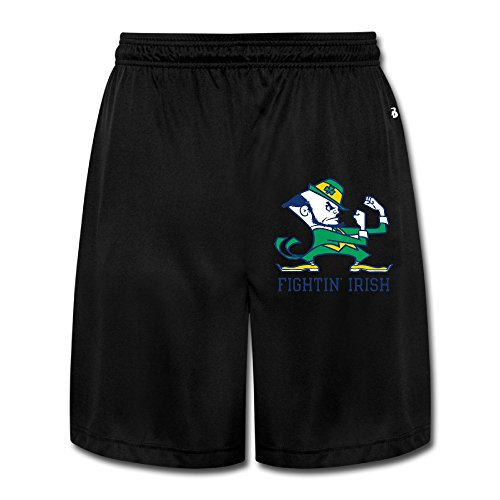 Texhood MEN'S University Of Notre Dame Logo Short Sweatpants Size M