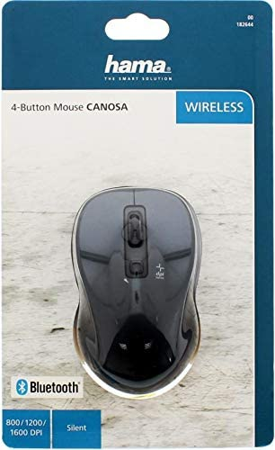 Hama Bluetooth muis Canosa Antraciet: Amazon.nl