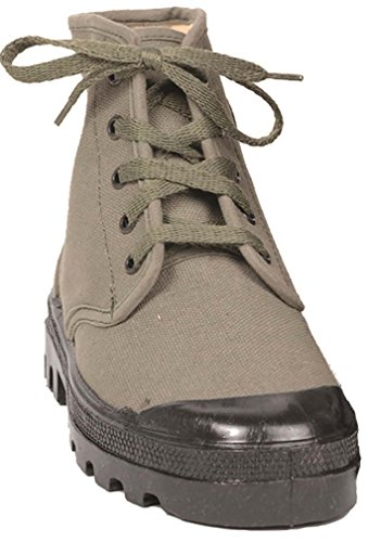 Mil-Tec French commando shoes 5-hole 7d4IlAB