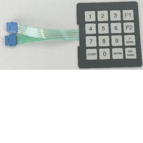 Gilbarco T17549-G1 programmable keypad, Pack of 6