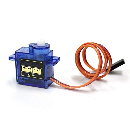 Upenten 1pc SG90 9g Micro Servo Motor for RC Robot, Helicopter, Drone, Car, Boat Remote Control