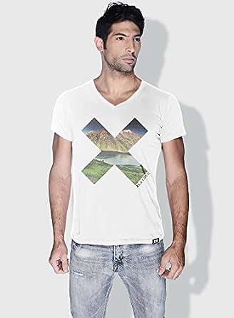 Creo Almaty X City Love T-Shirts For Men - L, White