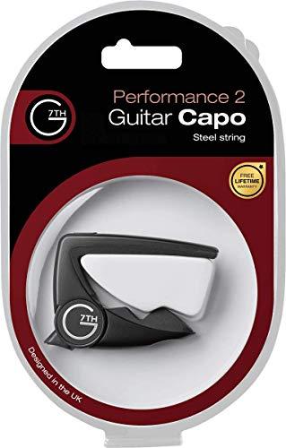G7th Performance 2 Silver Capo 6-String, Silver (G7C-P2SILV)