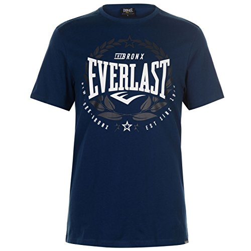 Blu Maglietta Everlast Uomo Laurel Deep OyHU7fv