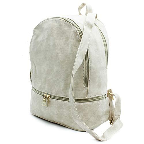 et dos sacs à bandoulière Misemiya pour Sr 8576 femme à Beige Sac Yf1EwxnaX