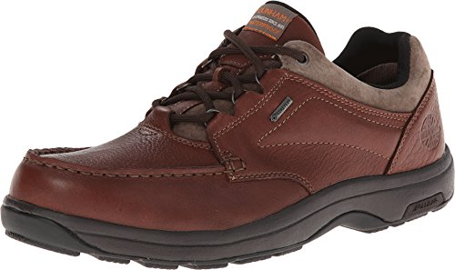 Dunham Men's Exeter Low Casual Oxford, Size: 17 Width: D Color: Brown ()