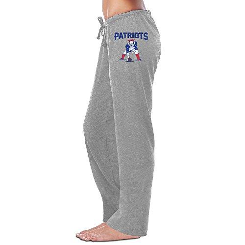 (HYD Women's Workout Pants New England Patriot Ash Size XL)