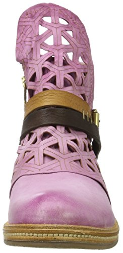 A.S.98 Women's Vertical Biker Boots, Blue Brown (Confetto/Confetto/Natur/Tdm/Confetto 0004)