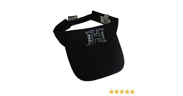 84a22942 Amazon.com : University of Hawaii New Season Warriors Visor, Black Color :  Sports Fan Baseball Caps : Sports & Outdoors