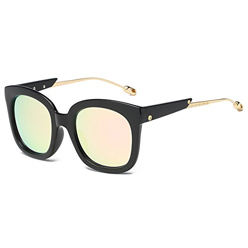 Goggles Black Eyeglasses Beach Driving Women's for Pink Frame Sunglasses UV Sunglasses Fashion Travel Protection cherry Frame Eyewear Square Luxury Eeyglasses Lens Shopping 0Onq8Tvn
