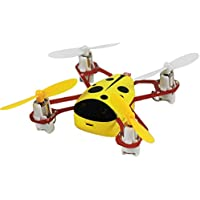 Cheerwing CHEER X1 2.4Ghz 4CH 3D Mini RC Quadcopter with Headless Mode Nano RC Drone UFO with LCD Screen Yellow
