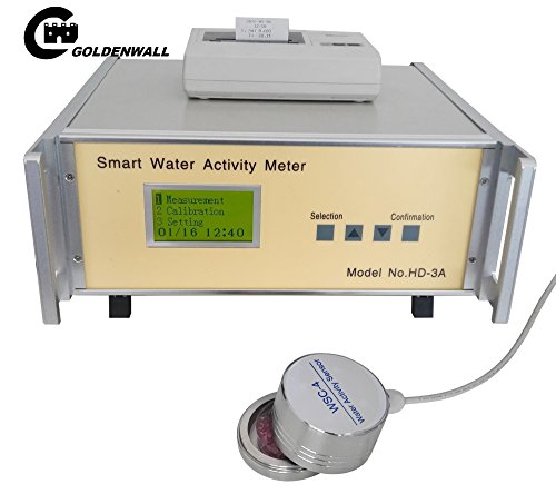 Smart Food Water Activity Meter HD-3A Lab Testing Instrument Range: wateractivity:0-0.980aw(nocondensing) / temperature:0-50°C accuracy:wateractivity±0.015(25°C) / temperature:±0.5°C by CGOLDENWALL