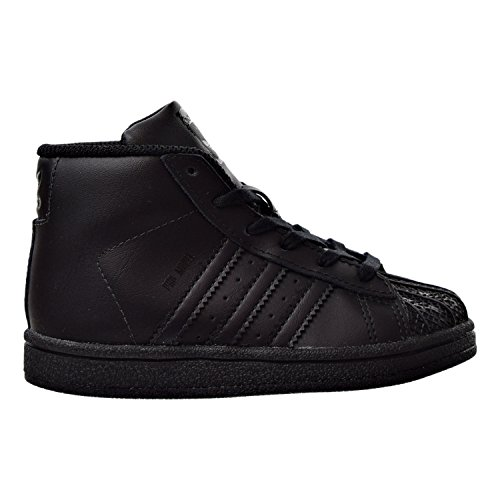 Adidas Pro Model Infants/Toddlers Shoes Black/Black by4397 (6.5 M US)