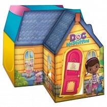 Amazon Com Playhut Doc Mcstuffins Deluxe Cottage Toys Games