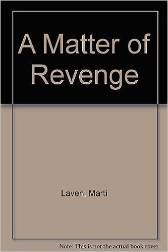 Book Matter Of Revenge