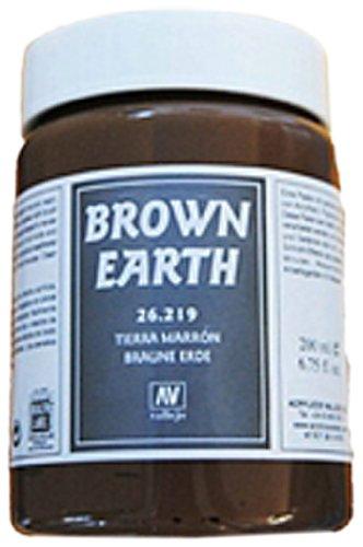 vallejo-brown-earth-gel-200ml