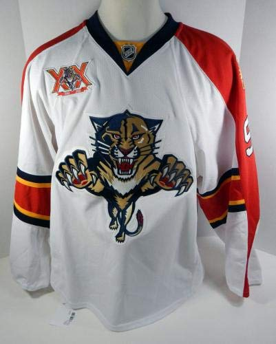 2013-14 Florida Panthers MacKenzie Weegar  98 Game Issued White Jersey - Game  Used NHL Jerseys at Amazon s Sports Collectibles Store d950414ea