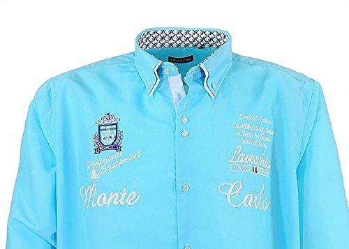 Große Größen - LaVecchia Herren Hemd in Übergröße 4XL