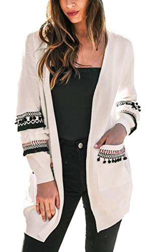 casual light open front long