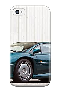 New Style 3254411K92595993 Protection Case For Iphone 4/4s / Case Cover For Iphone(jaguar Xj220 17)