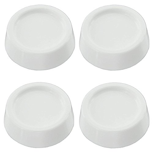 RELIAPART Non- Slip Universal Anti Vibration Rubber Feet Pads for all makes of Washing Machine ()