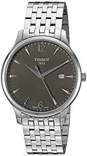 Tissot Men's T0636101106700 Silver-Tone Stainless Steel Anthracite Dial Watch (B0057978O0) | Amazon price tracker / tracking, Amazon price history charts, Amazon price watches, Amazon price drop alerts