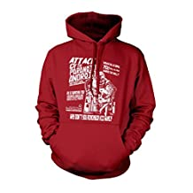 RADIOHEAD inspired PARANOID ANDROID B-Movie poster, Hoodie