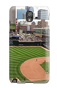 High Impact Dirt/shock Proof Case Cover For Galaxy Note 3 (minnesota Twins ) wangjiang maoyi