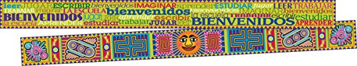 Barker Creek Double-Sided Border 2 Pack - Word Wall Spanish (BC3676)