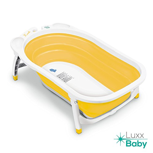 luxx baby bf1 folding bath tub by karibu w non slip mat yellow baby product in the uae see. Black Bedroom Furniture Sets. Home Design Ideas