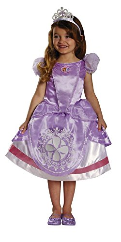 Toddler Sofia The First Deluxe Costumes - Deluxe Sofia