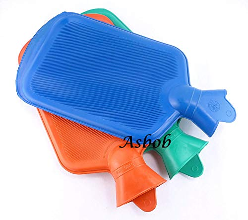 Asbob® hot water bags for pain relief non-electrical (2 Litre – Assorted Colour as per Availability)