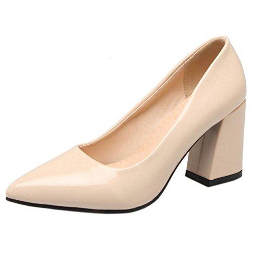 Coolcept Women Office Shoes Court Shoes Beige-64 xU8WM3