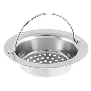 uxcell Kitchen Sink Basin Garbage Stopper Filter Strainer 11cm Dia 2pcs