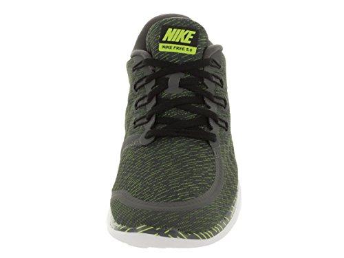 Nike Mens Free 5.0 Scarpa Da Corsa Dark Grey / Rflct Silver / Vlt / Wht
