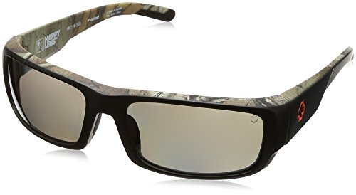 Spy Optic Caliber Polarized Shield Sunglasses, Decoy Realtree Xtra/Happy Bronze Polar/Black Mirror, 59 - Realtree Spy Sunglasses