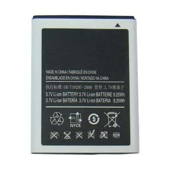 Standard Replacement Li-ion Battery for Samsung Galaxy Note Sgh-i717 ATT 2500 Mah Battery Eb615268vabxar for Note One