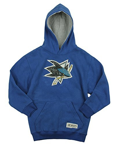 NHL San Jose Sharks Big Boys Youth TNT Jacket - Teal
