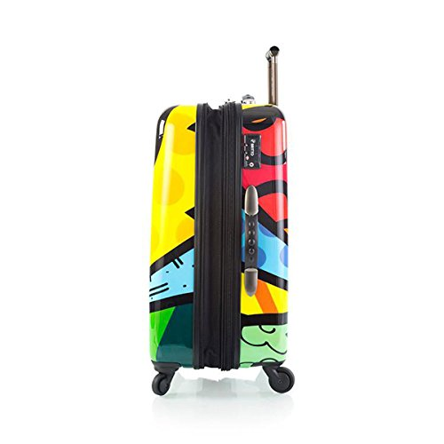 Romero Britto Luggage 22'' a New Day Spinner Wheels Carry-on by Heys (Image #3)