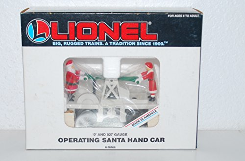 Lionel 6-18408 Santa Claus & Mrs. C operating handcar motorized Christmas by Lionel (Image #1)'