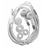 Xiaomi MI Mobile Compatible Earphone with Mic for All Mobiles (White)