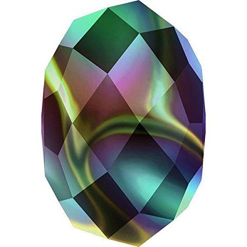 5040 Swarovski Crystal Beads Briolette 6mm | Crystal Rainbow Dark 2X | 6mm - Pack of 10 | Small & Wholesale Packs