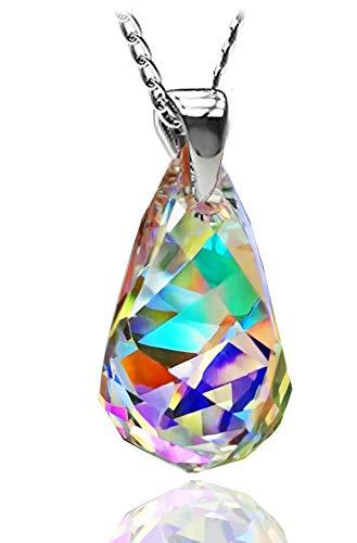 Aurora Borealis Crystal - Royal Crystals Iridescent Drop Aurora Borealis